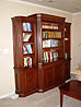 Classical Bookcase in Cherry